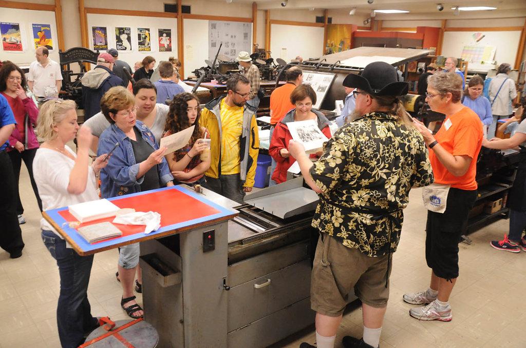Printing Arts Fair June 2015